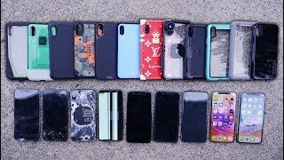 Most Durable iPhone X Cases Drop Test 2! Top 12
