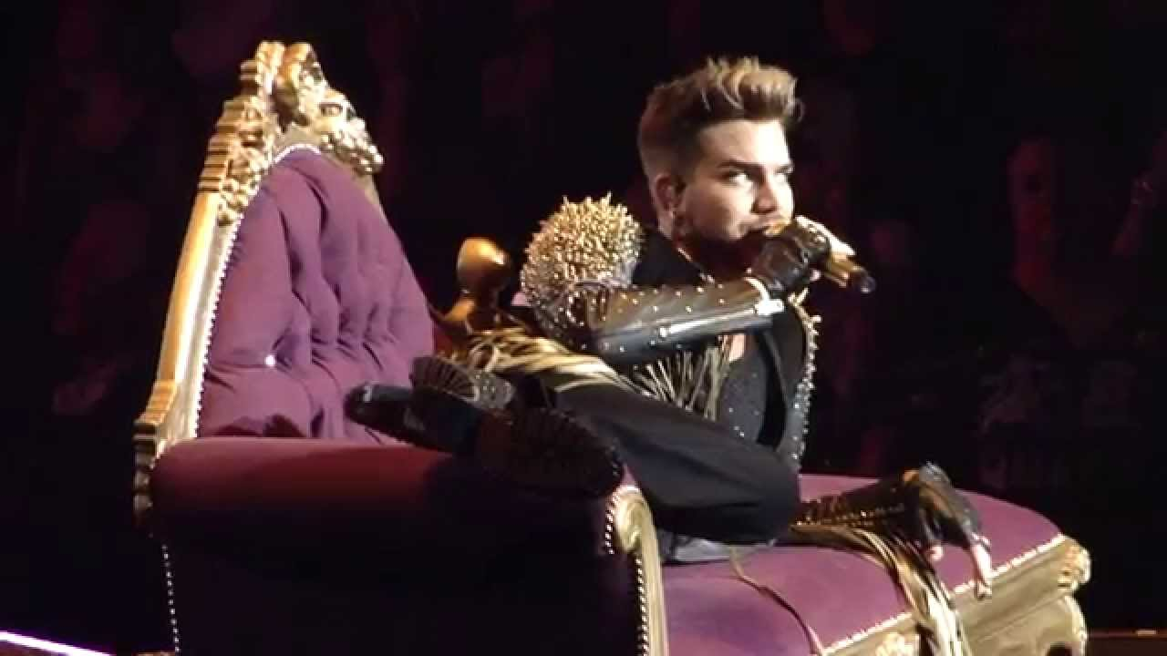 Queen adam lambert killer queen madison square garden nyc new york youtube The killers madison square garden