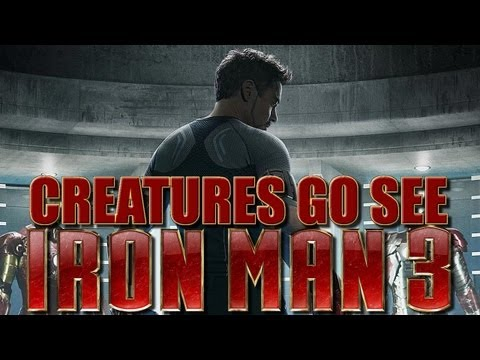 Creatures Go See Iron Man Movie Marathon (Movie Trip)