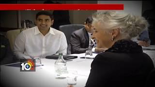 CM Chandrababu Busy Tour In Davos | Amaravathi | AP