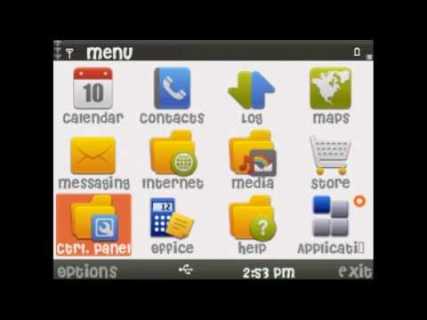 change fonts on nokia e5-00 s60v3 device.avi