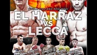 Titolo Italiano Medi El Harraz vs Lecca
