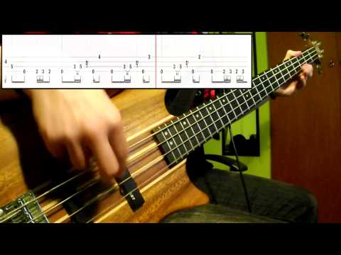 Rage Against The Machine - Killing In The Name (bass Cover) (play Along Tabs In Video) video