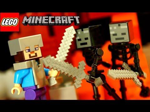 Кока Все Серии - Лего Майнкрафт и Мультики Лего - на русском языке. Lego Minecraft Animation