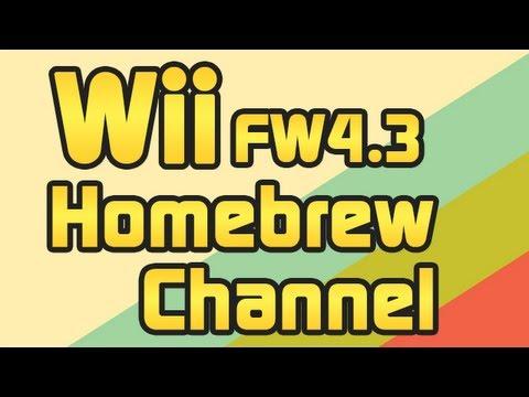 Wii Firmware 4.3 Homebrew Channel installieren mit Letterbomb und USB Loader