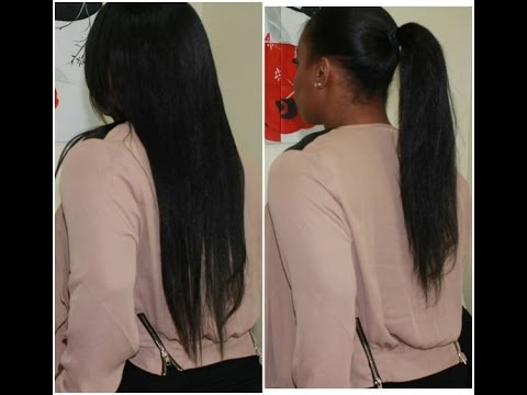 Relaxed Hair 2014 Update - SimplYounique