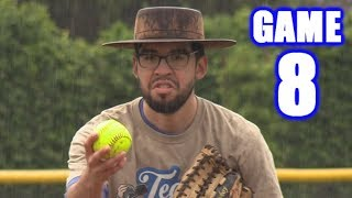 FROM HIS KNEES! | On-Season Softball Series | Game 8