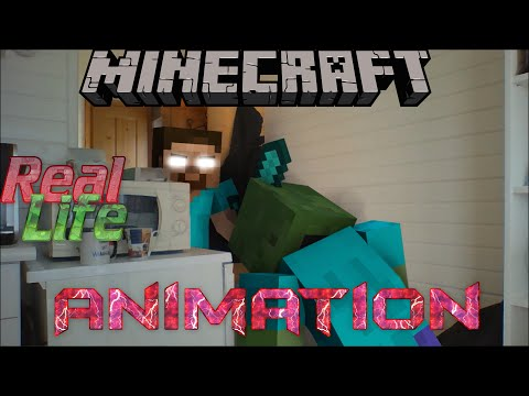 Minecraft in Real Life | Mine-Imator Real life animation