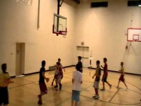 MOUNT ROYAL ACADEMY BASKETBALL SCRIMMAGE VARSITY VS JUNIOR HIGH 12-7-2011 PART 2