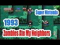 1993 Zombies Ate My Neighbors (Super Nintendo) Game Playthrough Video Game
