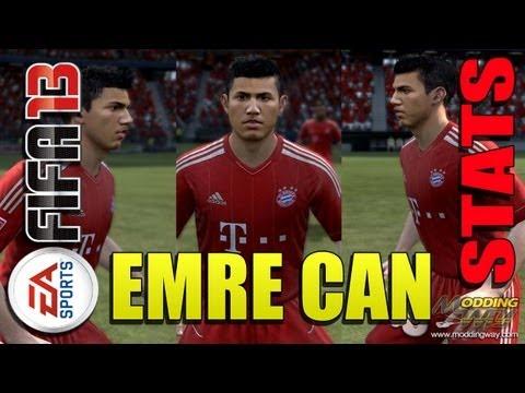 FIFA 13: Emre Can Stats / Habilidades en Bayern Munchen
