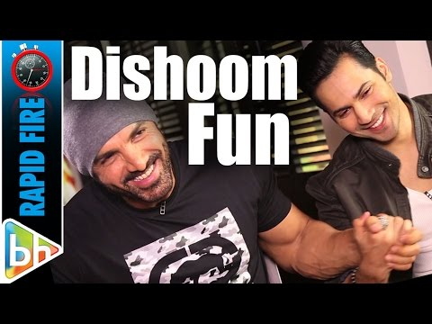 John Abraham's SUPER FUN Rapid Fire On Shah Rukh Khan | Akshay Kumar | Hrithik Roshan