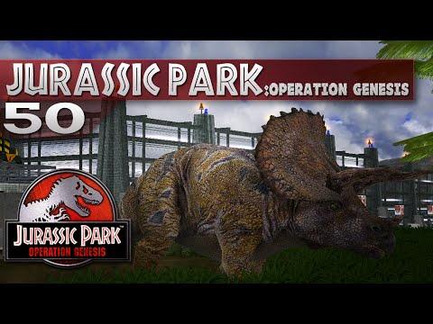 Jurassic Park: Operation Genesis - Episode 50 - Triceratops Rocks!