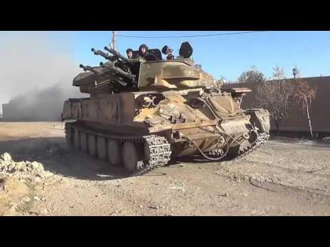 Сирия.Бои в Дейр Эр Зоре,генерал Иссам Захреддин/Syria. Fighting in Deir Zor Ayr
