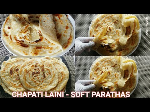 Jinsi ya kupika chapati laini - How to make soft chapati/paratha