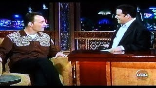 "Tom Kenny (voice of SpongeBob) on ""Jimmy Kimmel Live!"" from 11-19-2004 (RARE!!)"