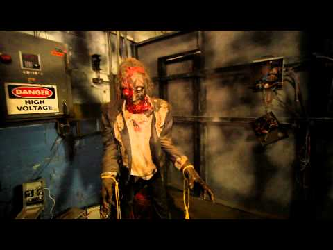 Factory of Terror part 1 HAuNTcon 2012 haunted house convention...