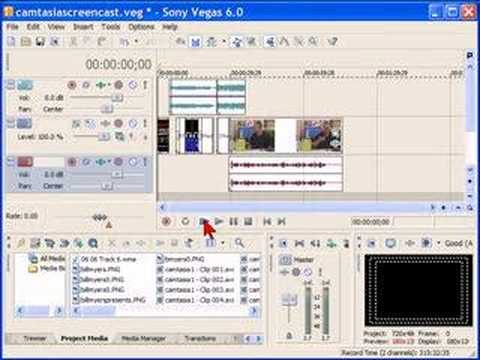 Sony Vegas Movie Studio External Drive settings
