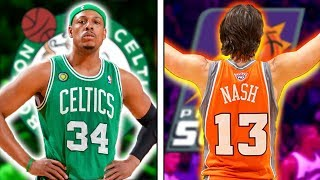 8 LEAST Athletic NBA Greats of All-Time