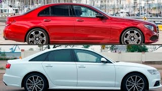 2017 Mercedes-Benz E300 241hp vs 2016 Audi A6 2.0 TFSI 252 hp