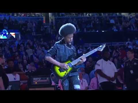 Malcolm Shreds The Star Spangled Banner video