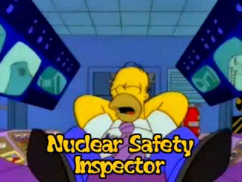 Homer Simpson Nuclear Power Plant