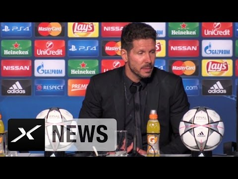 "Diego Simeone: ""Hat einfach nicht sein sollen"" | Real Madrid - Atletico Madrid 5:3 n.E. (1:1)"