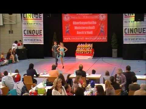 Shaline Michelle Menken & Tim Schnelle - Oberbayerische Meisterschaft 2012
