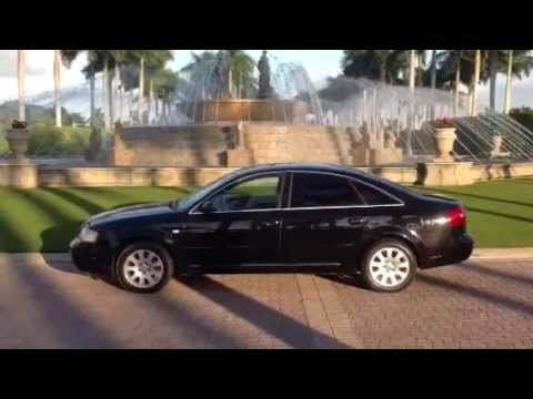 2001 AUDI A6 OFFICIAL REVIEW - STARTING. RUNNING. DRIVING