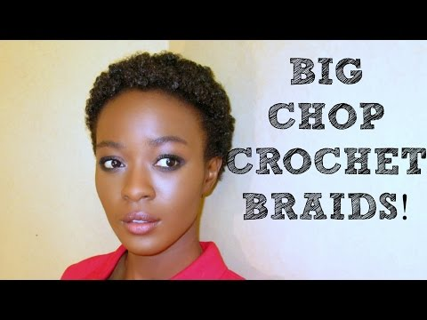 Big Chop Kinky Crochet Braids?Isis Afri-Naptural Definition Braid ...