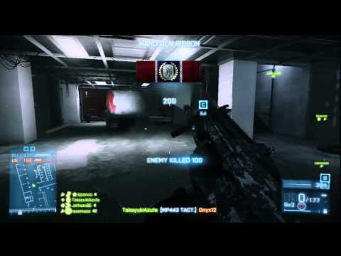 BF3 Conquest Domination / Gameplay on Operation 925