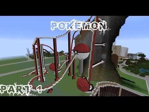 Pokémon - A Minecraft Roller Coaster (5 min) ★