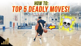 How to: Top 5 Simple Basketball Scoring Moves ANYONE CAN DO!