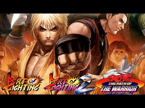 CGR Undertow - ART OF FIGHTING ANTHOLOGY review for PlayStation 2