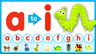 A-I Review Song (Lowercase) | Super Simple ABCs
