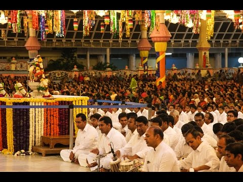 Shivarathri Akhanda Bhajan Conclusion at Prasanthi Nilayam - 8 Mar 2016