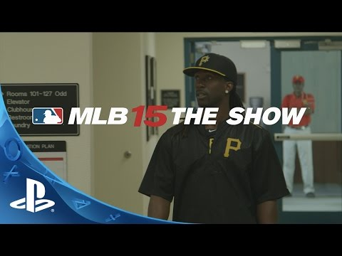 MLB 15 The Show: The Road with Andrew McCutchen | PS4, PS3, PS Vita
