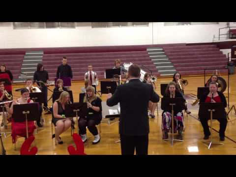 Unaka High School Band - Joy to the World