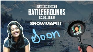 PUBG MOBILE LIVE AND CUSTOM ROOM| SNOW MAP INCOMING