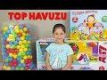 İLK TOP HAVUZUMUZ ! Ceren ve Ceylin'in eğlenceli çocuk videosu! Learn Colors With Finger Family Song