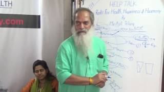 Reiki for Health, Happiness and Harmony in Life By Mr. Ajit Telang HELP Talks Video