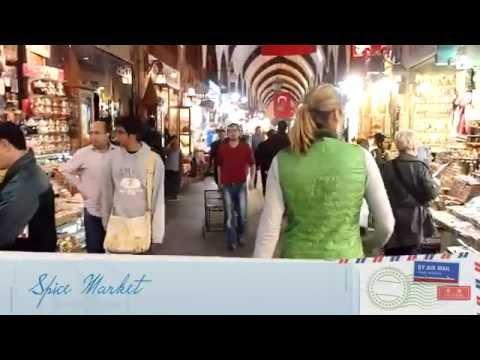 The Honeymoon Couple Explore Istanbul, Turkey