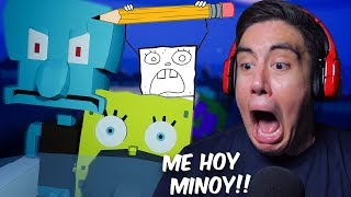 DOODLEBOB WANTS TO MEHOY MY MINOY ALL NIGHT | Around The Clock At Bikini Bottom [2]