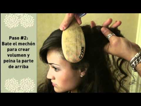 Peinados de Quinceañeras cortesia de Leonardo Rocco
