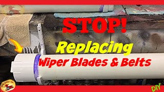 How To Make Wiper Blades and Alternator Belts LAST FOREVER