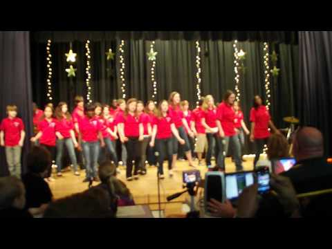 "Paul Knox Middle School 2012 Patriot Singers cover ""Hey, Soul Sister"" by: Train"