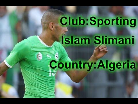 Islam Slimani-Algeria-Skills,Goals,Assist,Pass-Sporting Clube De Portugal
