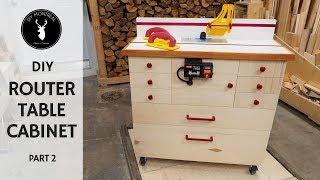 Router Cabinet | DIY Router Table Build - Part 2