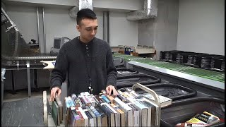 Book Sorting Machine Improves City Process