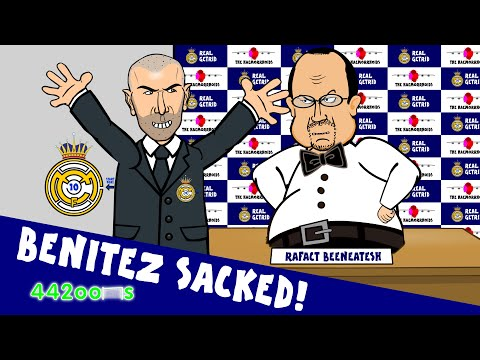 Rafa Benitez Sacked - My Way Parody Song! (Zidane - the Real Madrid Manager!)